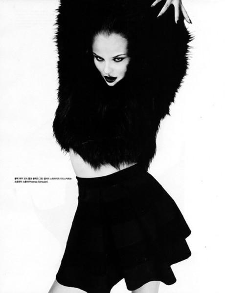 Magdalena Frackowiak by Giampaolo Sgura for Vogue Korea