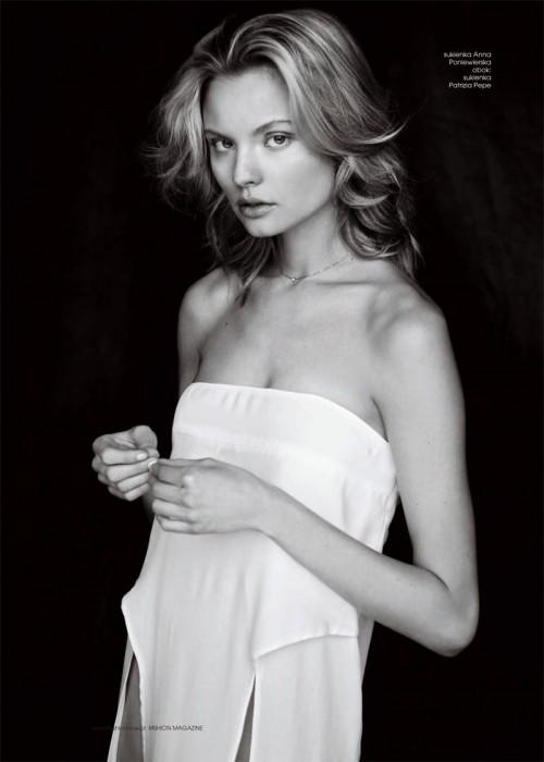 Magdalena Frackowiak by Magdalena Luniewska for Fashion Poland Spring 2012