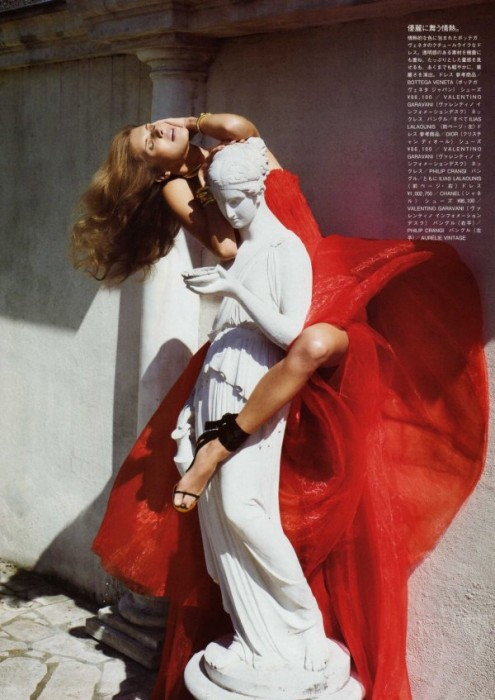 Malgosia Bela by Cédric Buchet for Vogue Nippon July 2010