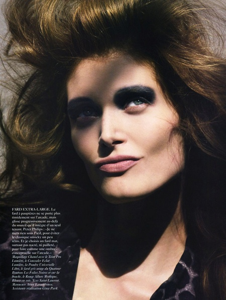 Vogue Paris August | Malgosia Bela by Cédric Buchet