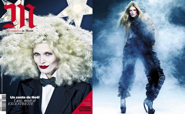 Malgosia Bela by Christian Anwander for <em>M le Monde</em> December 2011
