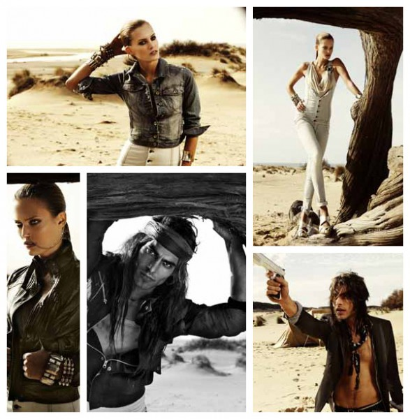 Mangano Spring/Summer 2010 Campaign Preview | Charlotte Cordes