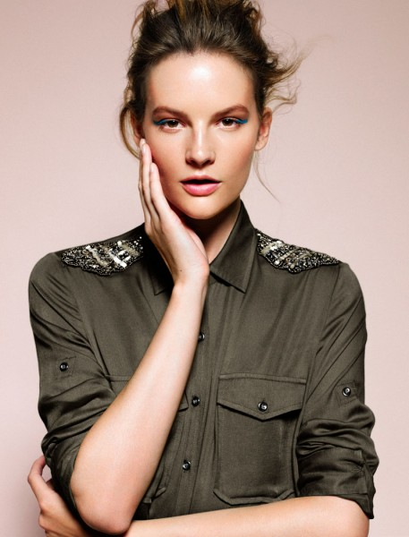 Mango Taps Sara Blomqvist for its September 2012 Lookbook