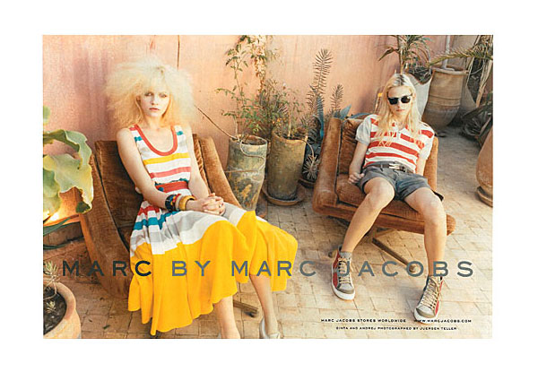 Marc by Marc Jacobs Spring 2011 Campaign Preview | Ginta Lapina & Andrej Pejic by Juergen Teller