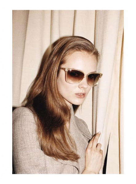 Marc Jacobs Eyewear Fall 2010 Campaign | Monika Jagaciak by Juergen Teller