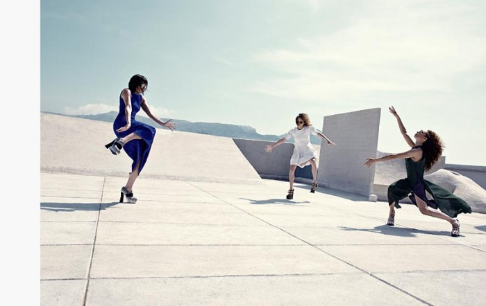 Thomas Krappitz Lenses the Art of Dance for Marie Claire Italia September 2012