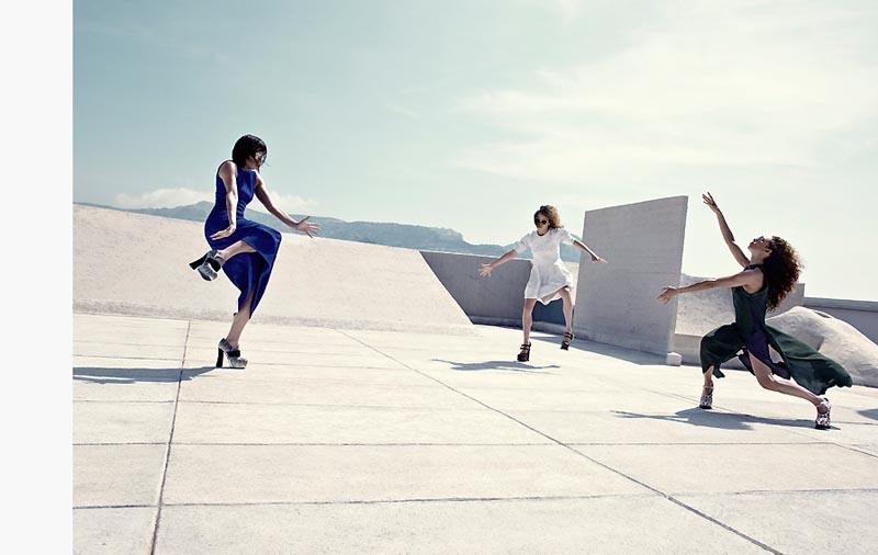 Thomas Krappitz Lenses the Art of Dance for Marie Claire Italia September 2012
