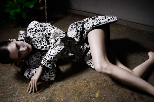 """Axel Lindahl Films Marie Piovesan in """"Double Portrait"""" for W Magazine"""