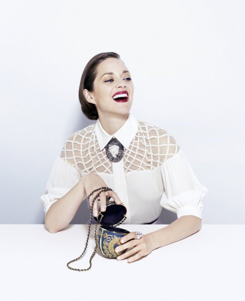Marion Cotillard Stars in Time Style & Design's Fall 2012 Cover Story