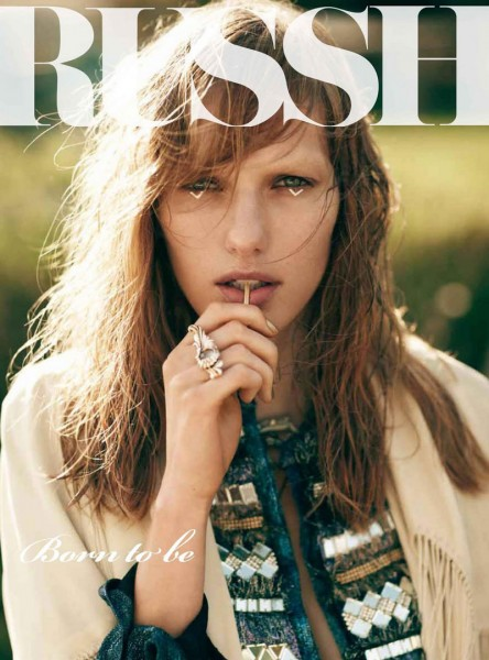 <em>Russh</em> #43 December / January 2011.2012 Cover | Marique Schimmel by Nick Dorey