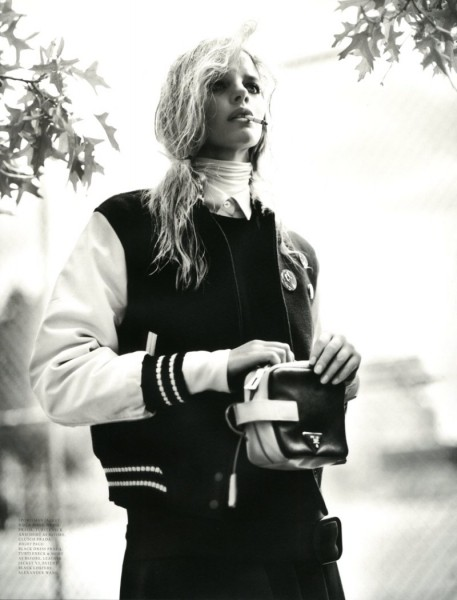 Marloes Horst by Patrik Sehlstedt for <em>Intermission</em> F/W 2011