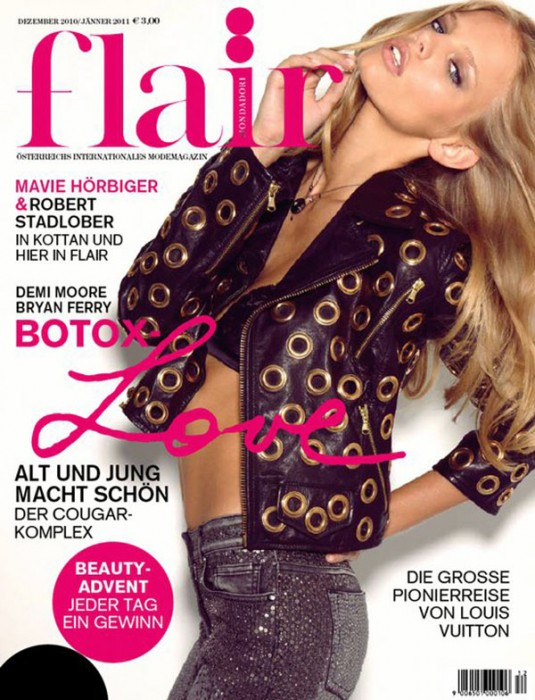 Marloes Horst for Flair Austria December 2010 / January 2011