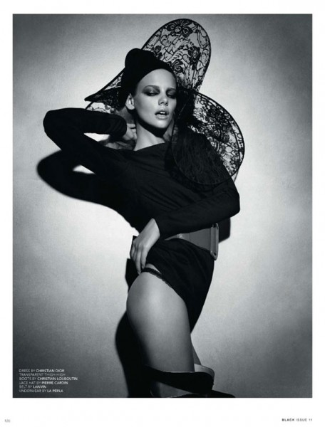 Noir et Nuit | Marloes Horst by Paul Empson for Black #11