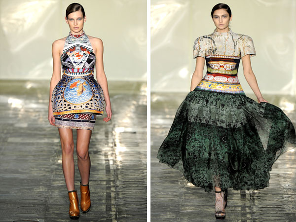 Mary Katrantzou Fall 2011 | London Fashion Week
