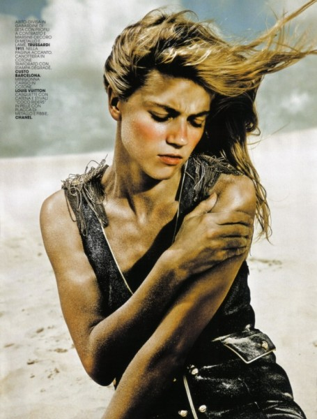 Masha Novoselova by Rennio Maifredi in Warrior | <em>Marie Claire Italia</em> May 2010