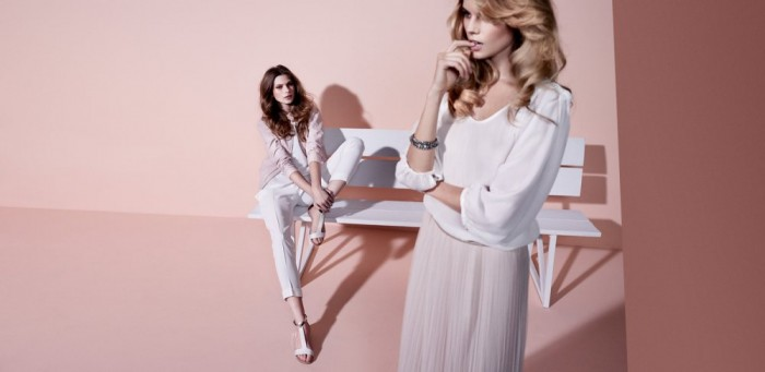 Maryna Linchuk & Monika Sawicka for Massimo Dutti Summer 2012 Campaign by Hunter & Gatti