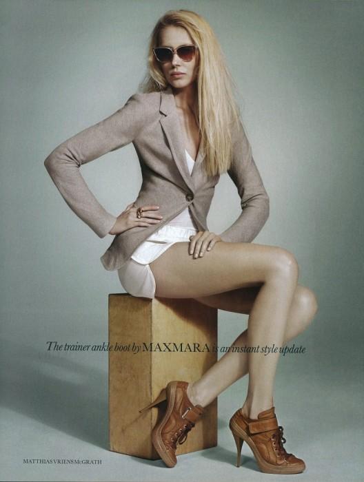 Colette Pechekhonova by Matthias Vriens | Elle UK Feb