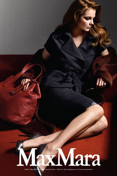 Campaign | Eniko for Maxmara Fall 2009 by Mario Sorrenti