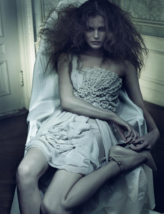 Morning Beauty   Edita Vilkeviciute & Anna Maria Jagodzinska by Craig McDean