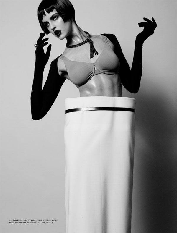Megan Hind by Raphael Delorme & Thierno Sy for L'Officiel Ukraine
