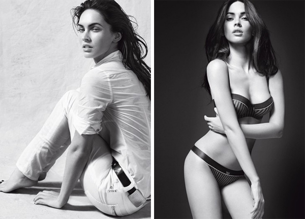 Armani S/S '10 Campaign | Megan Fox by Mert & Marcus