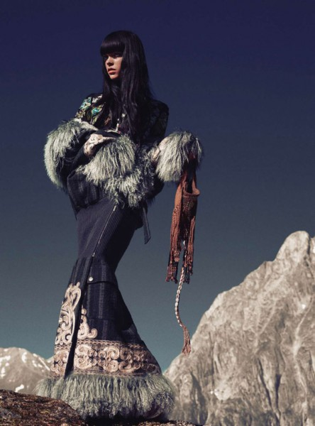 Meghan Collison by Norbert Schoerner for <em>Harper&#8217;s Bazaar UK</em> November 2010