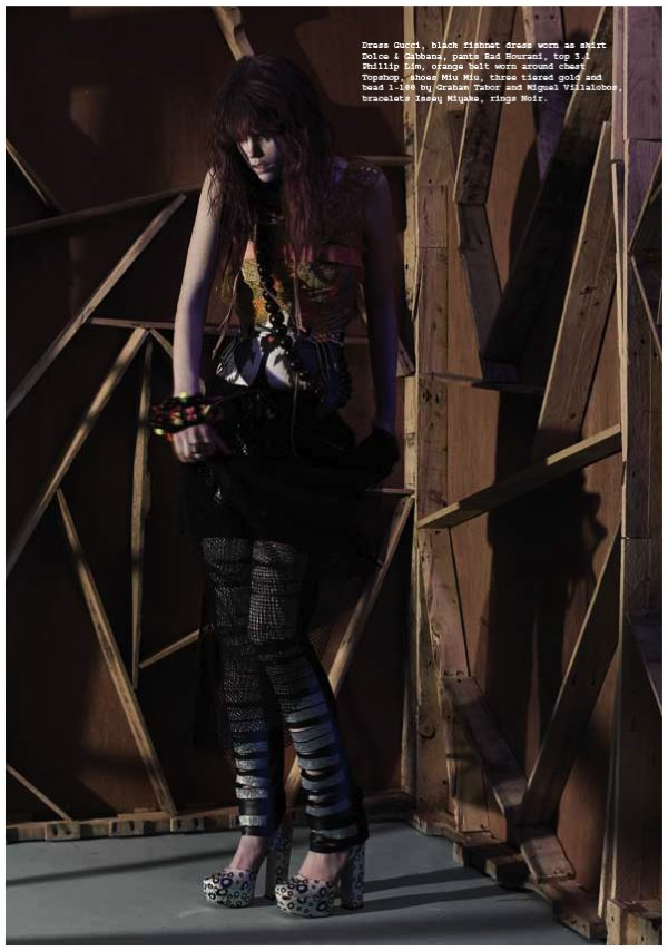 Meghan Collison by San Sierra for Metal Magazine #20