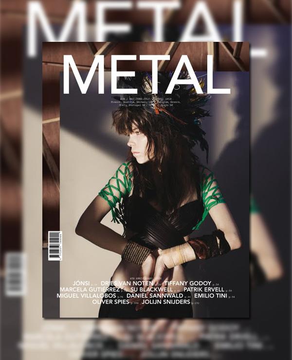 Metal #20 Summer 2010 Cover | Meghan Collison by San Sierra