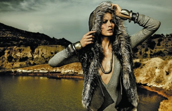 Michelle Buswell by Rennio Maifredi for <em>Marie Claire Italia</em> October 2010