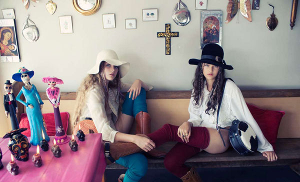 Ella & Imogen by Karen Inderbitzen-Waller for <em>No. Magazine</em> Issue #10