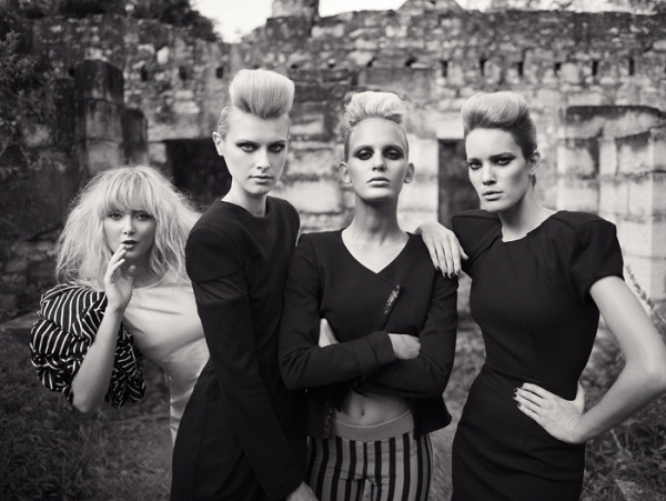 The Duchess | Amy, Meggie, Hanalei & Stacy by Mikael Wardhana