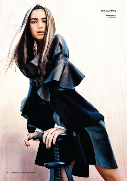 Kiki Kang for <em>Playing Fashion</em> September 2010 by Fan Xin