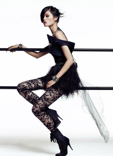Ming Xi by Lachlan Bailey for <em>Vogue China</em> December 2010