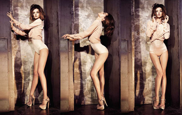 Miranda Kerr for <em>Elle US</em> June 2010 by Mariano Vivanco