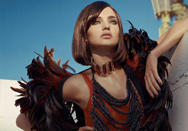 Miranda Kerr for <em>Vogue Spain</em> September 2010 by Tom Munro