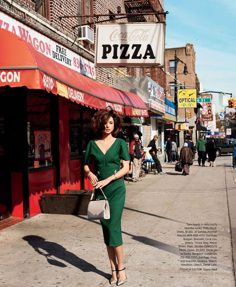 Miranda Kerr by Terry Richardson for Harper's Bazaar US April 2012