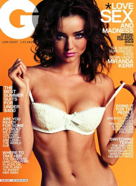 Miranda Kerr by Inez &#038; Vinoodh for <em>GQ</em> June 2010