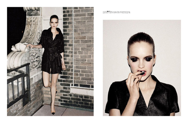 Mirte Maas by Angelo Pennetta | Bergdorf Goodman Spring 2010 Catalogue