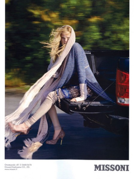 Campaign Preview | Missoni Fall 2009 by Ryan McGinley