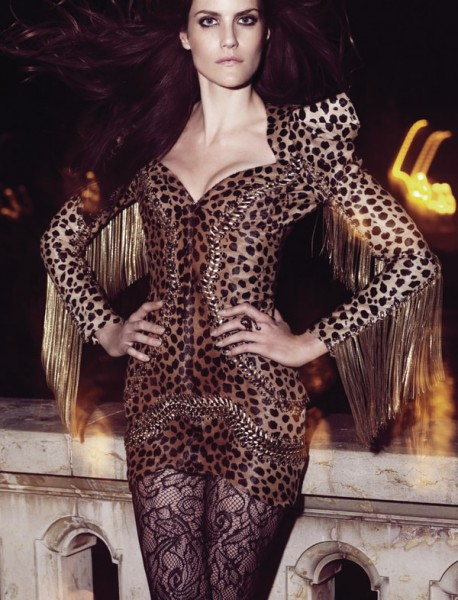 Missy Rayder for <em>Harper's Bazaar Spain</em> November 2010 by Nico