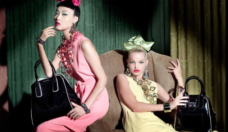 Miu Miu Taps Candice Swanepoel, Hilary Rhoda, Caroline Trentini, Jessica Stam, Karen Elson, Sung Hee and Daphne Groeneveld for its Resort 2013 Campaign