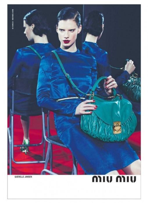 Querelle Jansen for Miu Miu Spring 2011 Campaign (Preview)