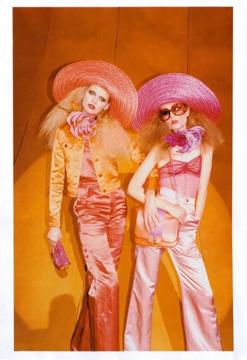 Marc Jacobs Spring 2011 Campaign Preview   Caroline Brasch Nielsen & Masha Kirsanova by Juergen Teller
