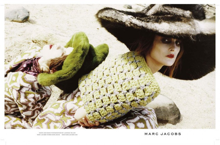 Marie Piovesan & Marte Mei Van Haaster Star in Marc Jacobs' Fall 2012 Campaign by Juergen Teller