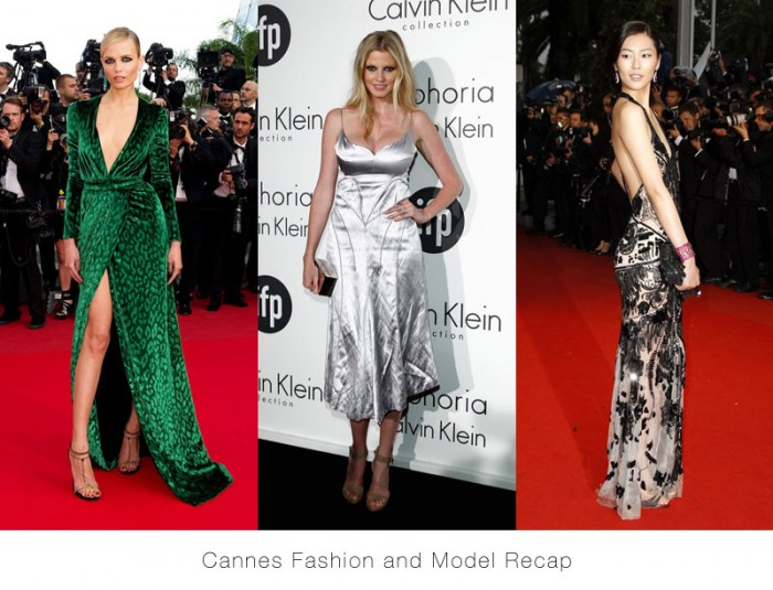 Lara Stone in Calvin Klein, Natasha Poly in Gucci, Liu Wen in Roberto Cavalli & More Model Style at Cannes