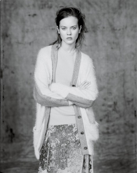 Monika Jagaciak, Hannah Holman & Tati Cotliar by Paolo Roversi for <em>Interview</em> September 2010