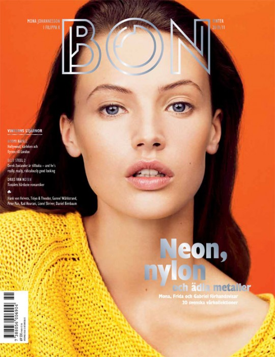 Bon Winter 2010 Cover | Mona Johannesson by Hasse Nielsen