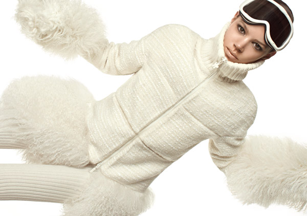 Freja Beha Erichsen by Steven Meisel for Moncler Fall 2010 Campaign