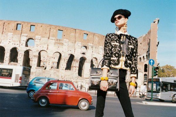 Kasia Struss for Moschino Spring 2012 Campaign by Juergen Teller