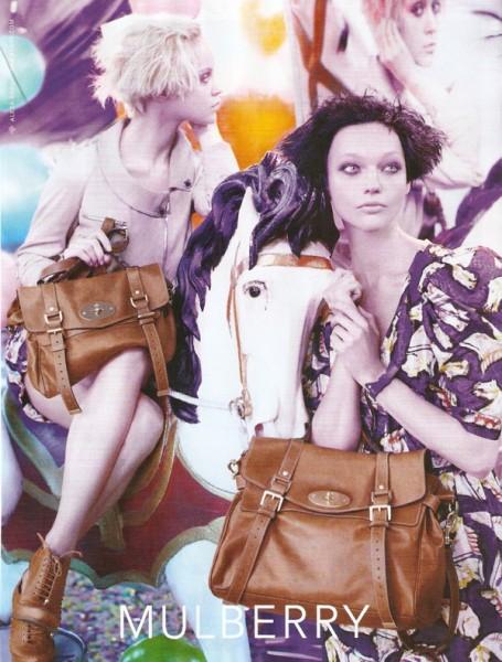 Mulberry Spring 2010 Campaign Preview | Sasha Pivovarova & Viktoriya Sasonkina